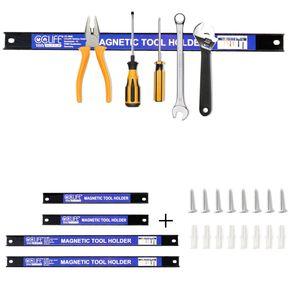4 tlg Magnetleiste Werkzeughalter Werkzeug Halterung Magnet Werkzeugleiste KFZ
