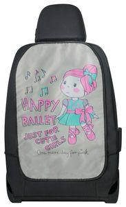 KidsExperts Rückenlehnenschutz Ballet Doll ca. 62 x 40 cm rosa, 26174