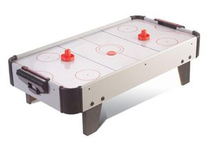 Airhockey-Tisch 80,5 x 42 x 23,5 cm Aufsatztisch Lufthockey Eishockey