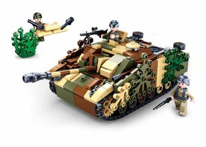 Sluban M38-B0858 - Camouflaged Tank