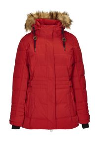 G.I.G.A. DX Oiva - Casual Funktionsjacke in Daunenoptik mit abzippbarer Kapuze 34490-400 rot, Damen Größen:44, Farben:rot