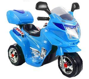 Kinder Elektro Trike Elektromotorrad 6 V blue m. Licht u. Sound Kindermotorrad elektrisch