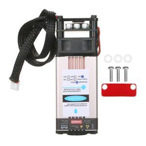 40W Lasermodul Laserkopf 450nm Gravurmodul Ersatz fuer Lasergravurmaschine CNC Lasermaschine Holzbeschriftungsschneidwerkzeug