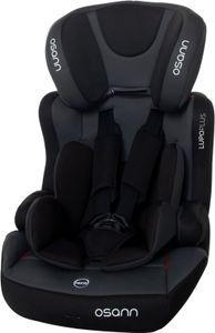 Osann Kindersitz Lupo Plus Nero - 9 bis 36 kg (8 Monaten bis 12 Jahren) - Befestigungsart 3-Punkt-Gurt - anthrazit , schwarz