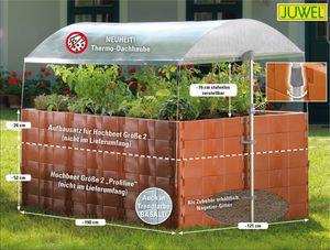 JUWEL Thermo-Dachhaube für Hochbeet Größe 2 Profiline 20114
