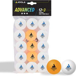 Joola 12+3 Tischtennisbälle Advanced Training ***   Tischtennisball Ball Bälle TT Tabletennis
