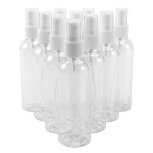 10 Stück ×100ml Leerflasche Liquidflaschen Zerstäuber Sprühflasche Leer Durchsichtig Plastik Transparente Feinen Nebel Sprühflasche Reise Beauty- Parfümzerstäuber Sprühflasche Flaschen