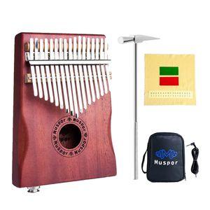 17 Schlüssel Kalimba Daumenklavier, High Qualität Professionelle Finger Daumen Piano Musikinstrument Geschenk