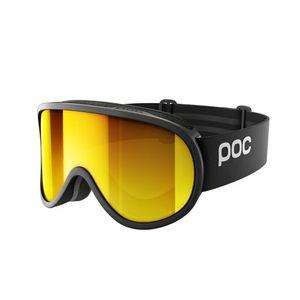 POC Skibrille Retina Clarity Uranium Black/Spektris Orange