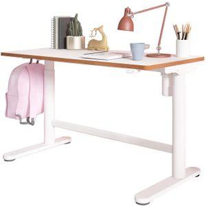 SANODESK Höhenverstellbarer Kinderschreibtisch/ergonomischer Schreibtisch - 60×100