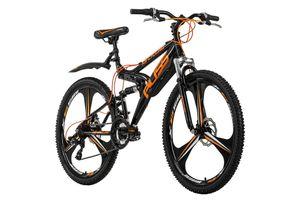 Mountainbike Fully 26'' Bliss schwarz-orange RH 47 KS Cycling