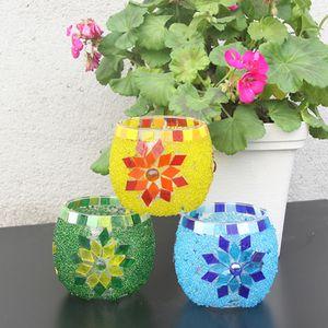 500pcs 2Colors Glasmosaik Fliesen Stücke Des Glas 500pcs Für Kunst DIY Handwerk