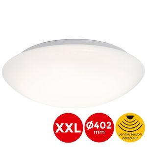 LED Deckenlampe Bewegungsmelder Tageslichtsensor 20W Ø40.2cm Briloner Leuchten