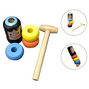 Unzerbrechliche unsterbliche Daruma Magic Toy Zaubertricks Lustige Holzspielzeug Geschenke