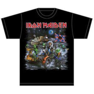 Iron Maiden Knebworth Moonbuggy Mens T Shirt: Large