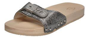 SCHOLL - Pantoletten TARA 792310-50-16 argent metallic, Größe:39 EU