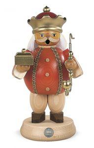 Räucherfigur Räuchermann Melchior mittelgroß Heiligen Drei Könige (BxH):11x18cm NEU