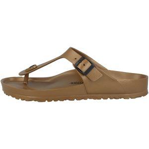 BIRKENSTOCK Gizeh Damen Sandalen Braun Schuhe, Größe:37