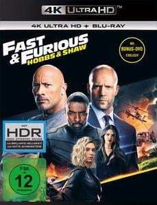 Fast & Furious: Hobbs & Shaw (UHD+BR) Min: 136DD5.1WS