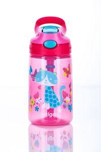 ContiGo! Trinkflasche Kinder Gizmo Flip Cherry with Cat mit 420ML Fassungsvermögen