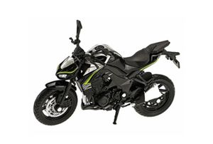 KAWASAKI 2017 Ninja 1000R schwarz scale 1:18 Superbike Motorrad Modell Welly 60