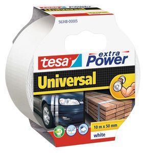 tesa® extra Power Universal Gewebeband 10 m x 50 mm weiss