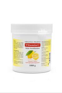 Original Pharno Vitamin C Pulver - 1000g / 1kg - Reine Ascorbinsäure