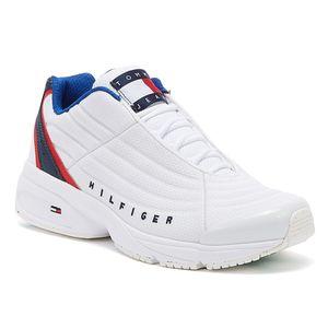 Tommy Hilfiger Tommy Jeans Sneaker Herren Sneaker in Weiß, Größe 41
