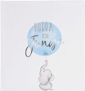 Goldbuch Baby Hurra- ein Junge 30x31 60 weißen Seiten     15206