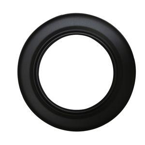 Rosette Senotherm schwarz 130 mm