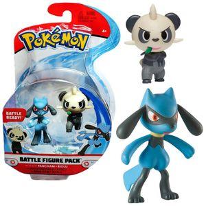 Auswahl Battle Figuren   Pokemon   Action Figur   Spiel-Figur zum Sammeln, Spielfigur:Pam-Pam & Riolu