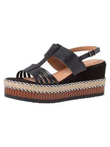 Marco Tozzi Damen Sandalette schwarz 2-2-28377-26 F-Weite Größe: 39 EU