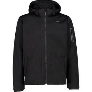Cmp Man Jacket Zip Hood Nero Nero 52