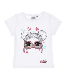 LOL Surprise Kinder Baby T-Shirt Kinder Mädchen Bluse Weiß Gr. 98/104