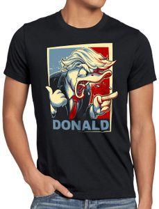 style3 Der Donald Herren T-Shirt vereinigte staaten von amerika usa, Größe:S