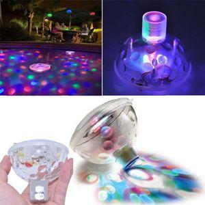 Schwimmende Unterwasser-RGB-LED-Disco-Licht-Glow-Show-Whirlpool-Whirlpool-Spa-Lampe