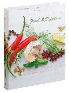 PAGNA Kochrezepte-Ringbuch Fresh & Delicious DIN A4