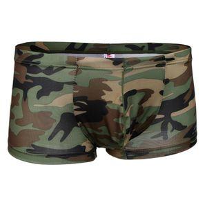 armee grüne tarnung gemusterte männer boxer briefs shorts unterwäsche stämme l Größe L