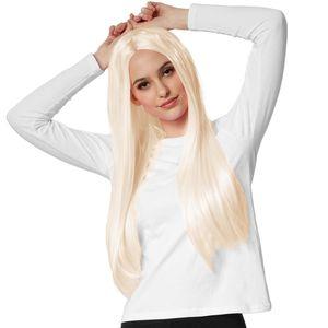 dressforfun Perücke Lange Haare glatt - blond