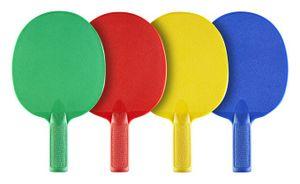 JOOLA Multicolor-Set, Outdoor-Tischtennis-Schläger
