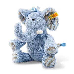 Steiff 64869 Earz Elefant   blau 30 cm