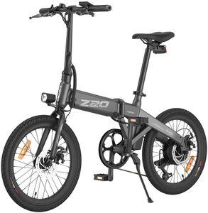 "HIMO 20"" Elektrofahrrad E-Bike Mountainbike Citybike Faltbar, wasserdichte IPX7-Leistung, hochauflösendes LCD-Display, aus Aluminium, 3 Fahrmodi, einfach zu Pendeln, Grau"