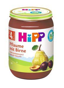 HiPP Früchte nach 4.Monat, Pflaume mit Birne, DE-ÖKO-037 - 190g