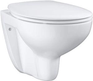 Grohe Wand-Tiefspül-WC Set, 3935 x 1 Bau Keramik mit WC-Sitz soft close alpinweiß, 3935 x 1000