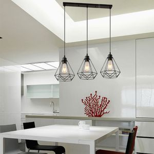 3er setPendelleuchte Hängelampe Drahtleuchte für Esstisch Esszimmerlampe Wohnzimmer Lampe