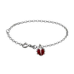 Zeeme for Kids Armband 925/- Sterling Silber 15cm weiß 299260027