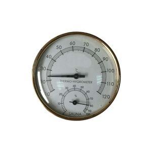 Mllaid Metallsauna Hygrothermograph Thermometer Hygrometer Sauna Zimmer Zubehör