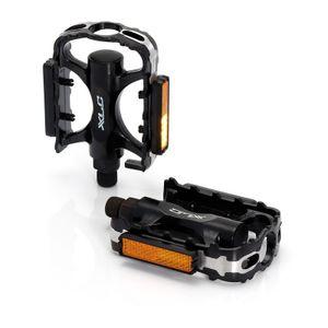 XLC PD-M02 MTB/ATB-Pedal Alukörper/-käfig, schwarz (1 Paar)