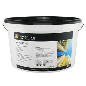 Pictolor Quarzgrund 20kg - Putzgrund - Voranstrich für Dekorputze - Quarzgrundierung