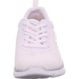 SKECHERS 13070/WSL Appeal 3.0-First Insight Damen Sneaker weiß/silber, Größe:40, Farbe:Weiß
